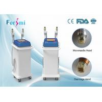 Buy cheap face lifting and acne scar removal vertical Microneedling 5Mhz thermage rf machine from wholesalers