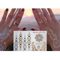 Wholesale Jewelry Inspired Metallic Body Tattoo Stickers Hand Bracelets Designs from china suppliers