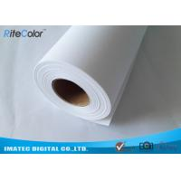 Wholesale 260 Gram Inkjet Matte Polyester Canvas Rolls , Pure Polyester Canvas for Pigment Ink Printing from china suppliers