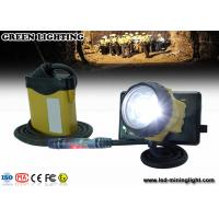 Wholesale OEM/ODM LED Mining Cap Lights With SAMSUNG Lithium Battery , 3W 800Ah Light Power from china suppliers
