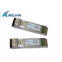 Wholesale Singlemode Fiber 10Gbps SFP+ Transceiver Module ZR Duplex 1550nm 10G 80Km SFP DDM from china suppliers