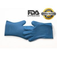 Wholesale Slip Resistant FDA Silicone Barbecue Gloves / Professional  Bbq Silicone Gloves from china suppliers