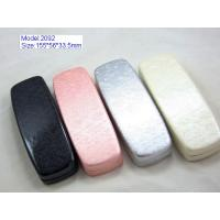 Wholesale Custom Optical Glasses Case PU Leather / PVC Leather Material With Silk Screen from china suppliers