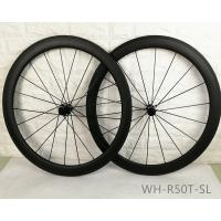Wholesale 18 / 20 Holes Tubular Carbon Spoke Wheels Eco Friendly Materials Super Lightweight from china suppliers
