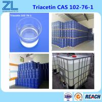 Buy cheap Kosher and Halla Fine Chemical Triacetin(Glycerol triacetate) Widely As A Highly Effective Plasticizer from wholesalers