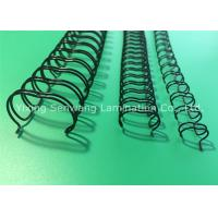 Wholesale Recipe / Album Coated Surface Twin Loop Wire Binding Firmly With 80Gsm Paper from china suppliers