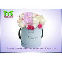 Wholesale Romantic Beautiful Flower Gift Luxury Flower Box With Ribbon , Flower Hat Box from china suppliers