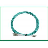 China FTTH Telecom Indoor Multimode Optical Fibre Patch Cords LC Jumper Wire Cables on sale