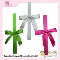 Wholesale Double Face Tape Pre Made Ribbon Bows Customized Color diy gift bow from china suppliers