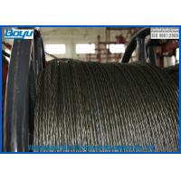 Wholesale 18 Strands Anti twist Galvanized Steel Wire Rope for Transmission Line Stringing 252kN 20mm Diameter from china suppliers