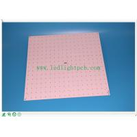 Wholesale Ceiling LED Panel PCB , aluminum based fr4 Custom LED PCB double sided from china suppliers