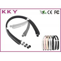 Wholesale Foldable Vibratory In Ear Neckband Bluetooth Headset With A Snug from china suppliers