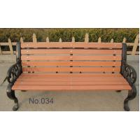 China Outdoor WPC Garden Chair / Furniture , Wood Garden Leisure Desks and Chairs on sale