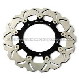 Wholesale Aluminum Front Motorcycle Brake Disc Set Yamaha YZF R3 FZ6 XJ6 CNC Machining from china suppliers