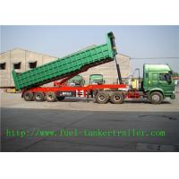 Wholesale Q345 Steel Mechanical Suspension / Air suspension Construction Dump Trailer from china suppliers