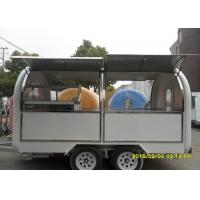 Wholesale Outdoor Customized Mobile Kitchen Concession Trailer With Both Side Opening Windows from china suppliers