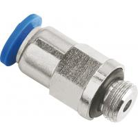 Wholesale Inline Check Valve Pneumatic Push To Connect Fittings NPT Male Thread To Tube from china suppliers