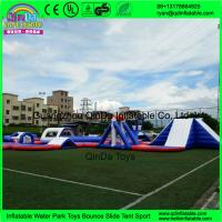 Wholesale New aqua park equipment inflatable island inflatable water park from china suppliers