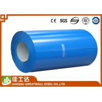 Wholesale Blue Prepainted Galvanized Color Steel Coil PPGL Coils 700-1250mm Width from china suppliers