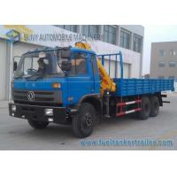 Wholesale RHD 6x4 Crane Truck , Dongfeng XCMG 10 T Crane high performance from china suppliers
