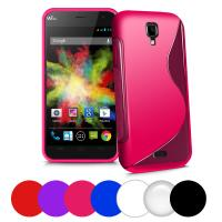 Wholesale Colorful red blue white soft silicone Cell Phone Protective Cases for wiko Bloom from china suppliers