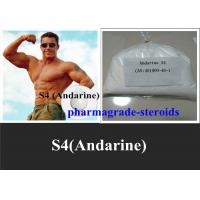Wholesale S4 Andarine Selective Androgen Receptor Modulators SARMs Bodybuilding 401900-40-1 from china suppliers