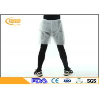 Wholesale Safety Waterproof Disposable Shorts PP Non Woven Boxer For Mens SPA from china suppliers