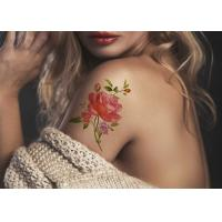 Quality Women's Flower Temporary Fashion Tattoos Sticker Long Lasting Tattoo Sticker for sale
