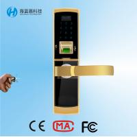 Quality High security sliver zinc alloy safe keyless door locks for home for sale