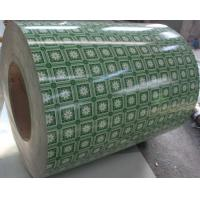 Wholesale Beautiful Flower Grained Prepainted Galvanized Steel Coil / ppgi coils Q235 from china suppliers