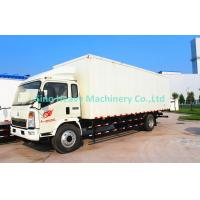 Wholesale Box Type Unloading Light Duty Truck 8 Ton With EURO II Emission Standard from china suppliers
