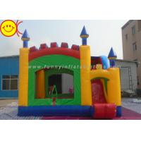 Wholesale Durable PVC Commercial Inflatable Bouncers With Slide for Kids from china suppliers