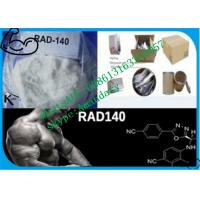 Wholesale 99% purity SARMs Steroids white Raw Steroid Powder Rad140 CAS 1182367-47-0 from china suppliers