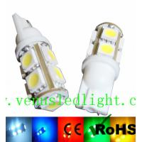 Wholesale White Car T10 9-SMD Wedge 5050 LED Light bulbs 192 168 194 W5W 2825 158 from china suppliers