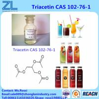 Quality Triacetin(Glycerol Triacetate) CAS 102-76-1 Liquid Highly Used In Flavors Fragrances Industries for sale