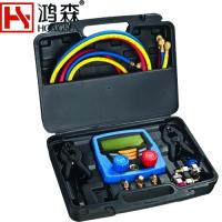 China Digital testing and charging Refrigeration Manifold Gauge HS-350 on sale