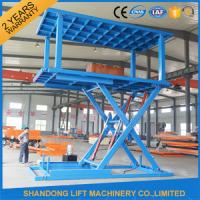 Buy cheap Indoor / Outdoor Double Car Parking Hydraulic Platform Lift 1 ton - 20 ton Load Capacity Custom from wholesalers