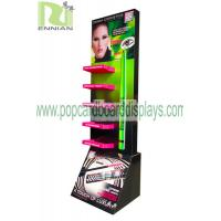 Quality Foldable CDU FSDU Cardboard Display Stand racks for eyeliner , ENCS047 for sale