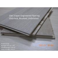 Wholesale White Oak Engineered Flooring click lock from china suppliers