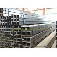 Quality Cold Rolled Square Galvanized Tubing For Steel Structure Buildings for sale