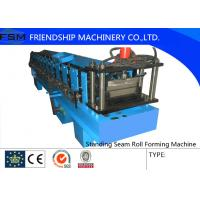 Wholesale Galvanized Steel Standing Seam Roll Forming Machine With 45# Roller from china suppliers