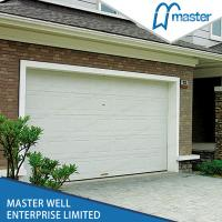 Wholesale Stripes Automatic Insulated Garage Doors , Finger Protection Function from china suppliers