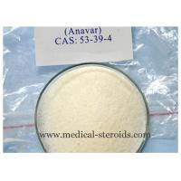 Wholesale Oral steroids bodybuilding Powder Oxandrolone Anavar CAS No. 53-39-4 from china suppliers