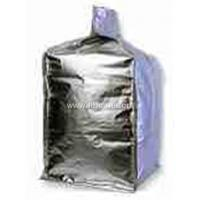 Quality Customized size Foil / poly liner - inserted at top bulk bag , form fit Shape for sale