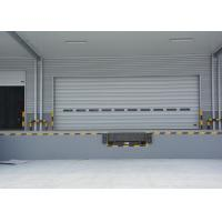 Wholesale Width 11m height 6m vertical lifting sectional door with single aluminum panel from china suppliers