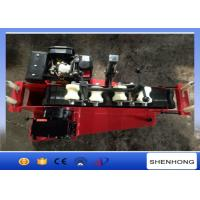 Buy cheap 5KN Diesel Cable Hauling Machine / Cable Pulling Winch for Pulling 30-110 mm Cable from wholesalers