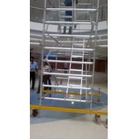 Wholesale Simple Lightweight Adjustable Versatility Mobile Tower Scaffold For Cleaning Windows from china suppliers