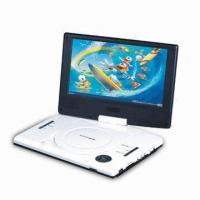 Wholesale 9-inch Portable DVD Player with Parental Lock Function and 16:9 or 4:3 Aspect Ratio from china suppliers