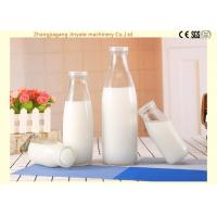 Wholesale Aseptic Milk Glass Bottle Filling Machine / Bottling Production Line Food Grade SS304 from china suppliers