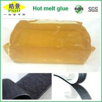 Wholesale Non Toxic Good Viscosity Psa Hot Melt Adhesive Block For Velcro Use from china suppliers